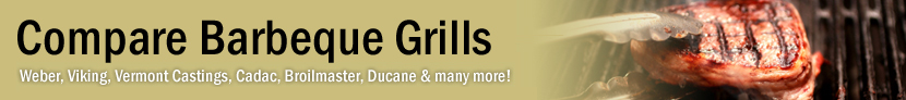 Compare Barbecue Grills